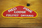 Vintage Patch - Red Pine Lodge Foleyet Ontario