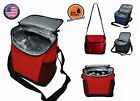 """Insulated Cooler Lunch Box Bag Container Picnic Beer Drink Water 9.5""""x6.5""""x10.5"""""""