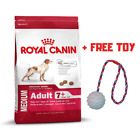 Royal Canin Medium Adult 7+ 15KG 30KG Dry Dog Food Free Toy Balanced Healthy