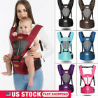 Kyпить Newborn Baby Infant Carrier Breathable Ergonomic Adjustable Wrap Sling Backpack на еВаy.соm