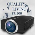 YG510 LCD Projector 1000 Lumens HDMI USB VGA AV 1080P Video Home Theater Beamer