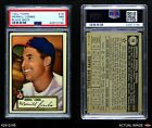 1952 Topps #18 Merrill Combs Indians PSA 7 - NM