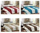 MiCasa 3 Piece Embroidery Reversible Quilt Bedspread Set Queen King image