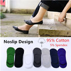 Men Invisible No Show Nonslip Loafer Low Cut Solid Cotton Boat Summer Socks