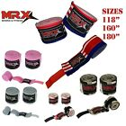 "180"" Hand Wraps MMA Muay Thai Kick Boxing Inner Gloves Mexican style Cotton Pair"