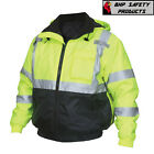 Kyпить Hi-Vis Insulated Safety Bomber Reflective Jacket with Quilted Liner ROAD WORK на еВаy.соm