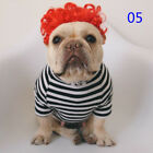 Pet Dogs Cats Festival Party Wig Lovely Creative Cute Wig for French Bulldog