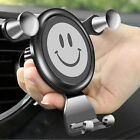 Gravity Car Phone Holder Air Vent Smile Mount Stand for iPhone Versatility 1Pcs