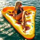 Swim Pool Floats Raft Air Mattresses 180cm Summer Inflatable Lovely Pizza Shape