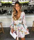 New with Tag Authentic Heathers Flounce Floral Dress S M L XL