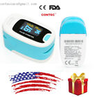 Digital Pulse Oximeter, Oxygen Sensor and Pulse Rate Monitor with Carry Case,USA