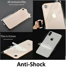 Transparent Skin Sticker Wrap Anti-Shock Cover Case Clear Vinyl For All iPhone