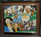 Original painting, Pittsburg Steelers, Football, Super Bowl IX by Gary Thomas