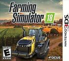 Farming Simulator 18 (Nintendo 3DS, 2017), Brand New And Sealed!