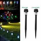 4X(Fashion Festival Solar Plastic Tube Lights Outdoor Waterproof Garden Deco N4)