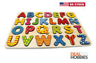 Wooden Alphabet & Number Puzzle For Toddlers Board Early Learning Toys 1 2 3 Age <br/> ✔ US Seller ✔ Free Fast Ship ✔ Same Day Ship ✔ In Stock