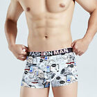 Men Breathable Underwear Boys Boxer Briefs Shorts Ice Silk Bulge Pouch Underpant
