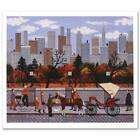 """Jane Wooster Scott """"Manhattan Colors"""" Signed Limited Edition Lithograph"""