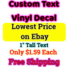 Kyпить Custom Personalized Vinyl Decal Lettering Window Car Wall Name Sticker на еВаy.соm