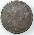 1798 Draped Bust Lare Cent 1C - S-161 Monster Cud