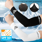 Kyпить 1 Pair Ice Cooling Arm Sleeves UV Sun Protection Cover Sports Golf For Men Women на еВаy.соm