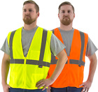 Majestic: M-Safe Fluorescent High Visibility Vest (Sizes M - 5XL)