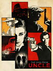 V8387 The Man From U.N.C.L.E. Characters Art Movie Film Print POSTER Plakat