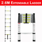 Telescopic Loft Ladder 2.6M-5M Extendable Collapsible Step Ladders Securing Bolt