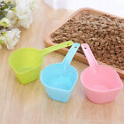 Pet Feeding Shovel Food Scoop Cat Dog Animal Feeder Hang Plastic Spoon Supplies