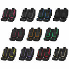 Flat Cloth Car Seat Covers Set Full Interior Set for Auto w/ Free Gift 12 Color $24.54 USD on eBay