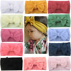 Kyпить Newborn Toddler Baby Girl Head Wrap Rabbit Big Bow Knot Turban Headband For Baby на еВаy.соm