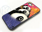 ar0745 - Tare Panda At The Moon Case Cover fits Apple iPhone Samsung Galaxy Plus