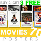 Classic Movie Posters 1970s 70s Poster, A4, A3 270gsm Poster, Prints, Art, Film £3.5 GBP on eBay