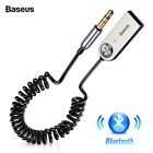 Baseus USB Bluetooth Adapter Cable For Car 3.5 Aux Bluetooth 5.0 4.2 4.0 Speaker