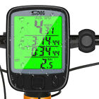 Cycling LCD Digital Cycle Computer Bicycle Bike Backlight Speedometer Odometer