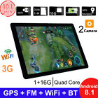 10.1 inch Game Tablet Computer PC Quad Core Android 8.1 GPS 3G Wifi Dual Camera