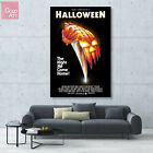 Canvas print wall art decor poster Classic Horror Movie John Carpenter Halloween