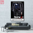 Canvas print wall art decor poster Classic Horror Movie Friday the 13th Jason