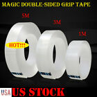 Kyпить Magic Double-sided Grip Tape Traceless Washable Adhesive Tape Nano Invisible Gel на еВаy.соm