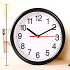 Home Bedroom Kitchen Quartz Large Vintage Silent Analogue Round Wall Clock Cute