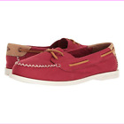 Sperry Top-Sider Women's A/O Venice Canvas Boat Shoes Red
