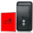 UPGraded Deep Stretch Battery or Charger for Samsung Galaxy Prevail LTE SM-G360P