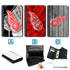 Detroit Red Wings Leather Women Wallet Coin Purse Card Holder $13.99 USD on eBay
