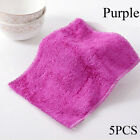 Household Bamboo Fiber Washing Towel Scouring Pad Dish Cloth Cleaning Rags