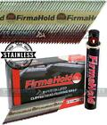 Firmahold Paslode Type First Fix Nails IM350 Stainless Steel Ringed 1100 Pack