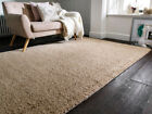 Sherwood Darwin Quality Wool Soft Shaggy Grey & Natural Rug in Various Sizes