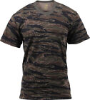 Camo T-Shirt Tactical Tee Short Sleeve Military Army Camouflage Uniform Fashion
