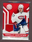 Rene Bourque 2013-14 Totally Certified Red Jersey Montreal Canadiens $5.0 USD on eBay