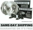 Friction Master Front Brake Kit - Set of 2 Rotors and 4 Ceramic Pads BK1924c