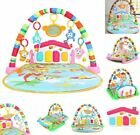 3 in 1 Baby Light Musical Gym Play Mat Lay  Play Fitness Fun Piano Boy Girl